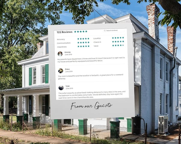 Here are some of the reviews of the Fairytale Suite when it was listed previously.
