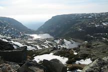 The Serra da Estrela Mountains