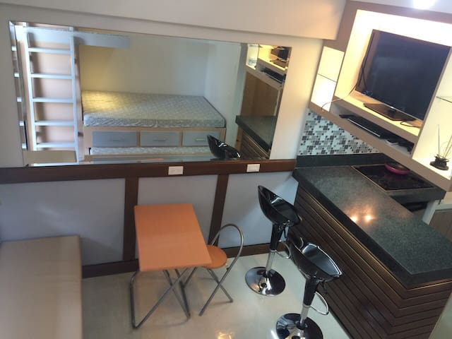 Studio unit with a Cabin set-up - Cebu City - Condominium