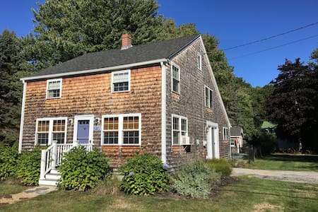 Charming Maine House with pool, near beach - Saco - Huis