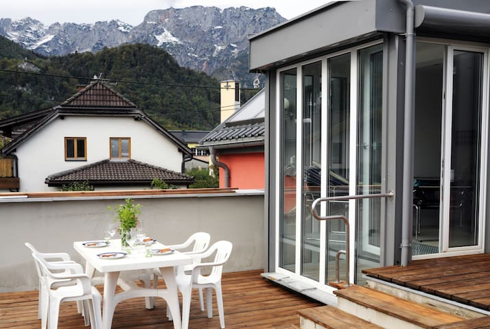 New mountainview residence at the edge of Salzburg - Hallein - Dům
