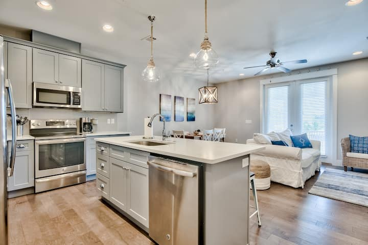 Spacious 30A home w/Pool + 1/2 mile from beach