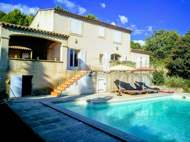 Provence Villa near Luberon,4 bedrooms  with pool