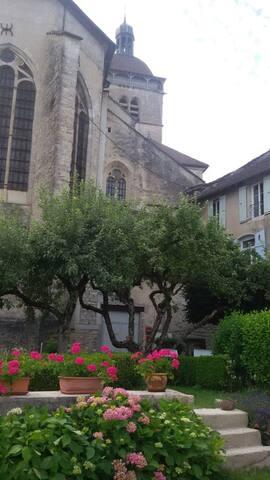 Maison des Buis 1 à 4  pers. - Orgelet - Townhouse