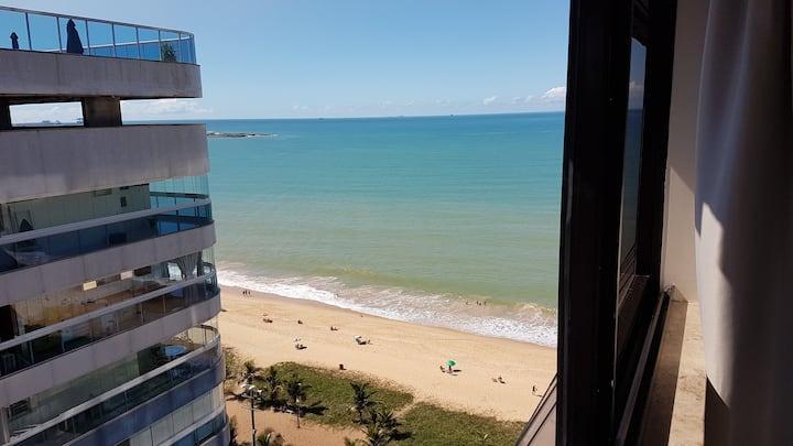 Pasárgada flat com vista para o mar