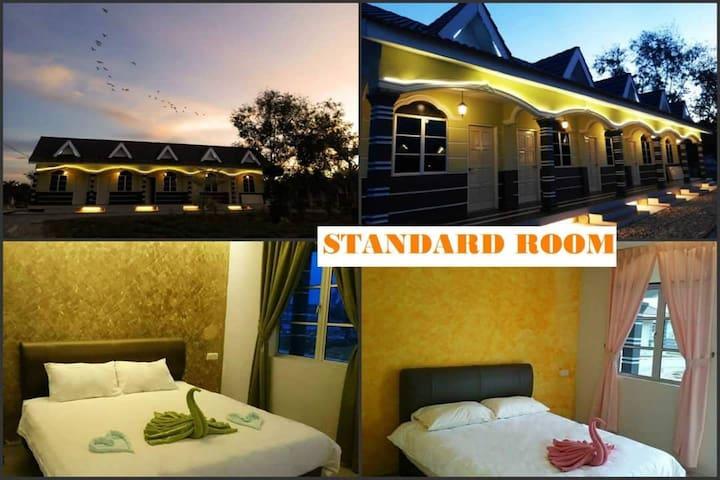 Standard Room @ Trong Leisure Farm & Resort 自农休闲农庄