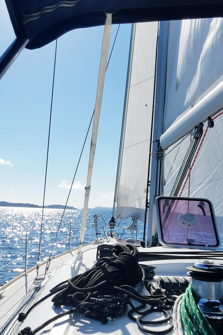 Day sail to nearby  out islands