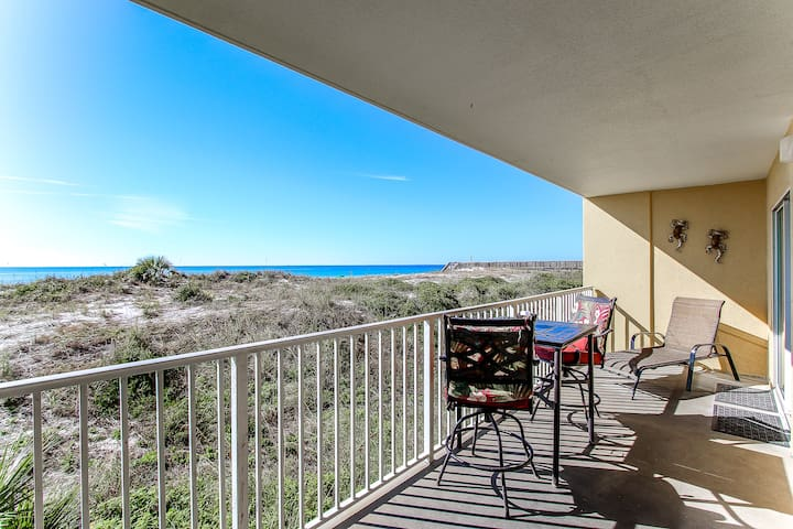 Updated Gulf Dunes Gulf-Front Condo With Gorgeous Views