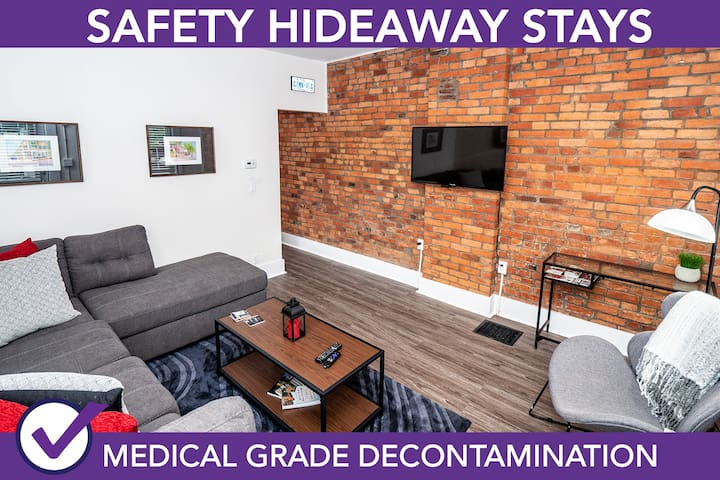 Safety Hideaway - Medical Grade Clean Home 12