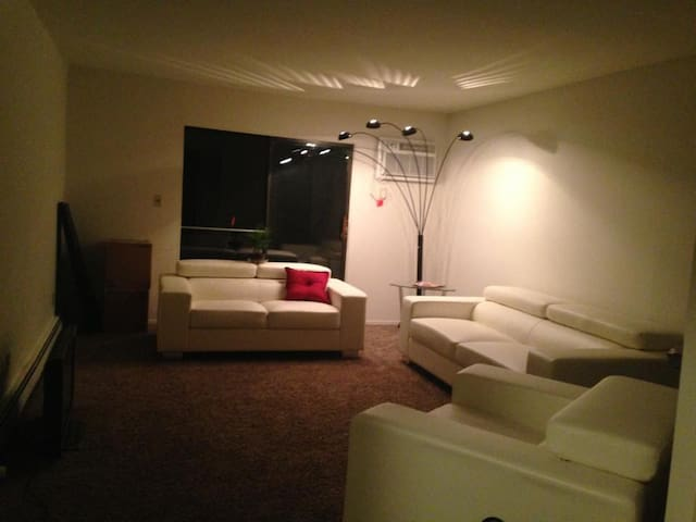 One bed in my living room - Patchogue - Apartamento