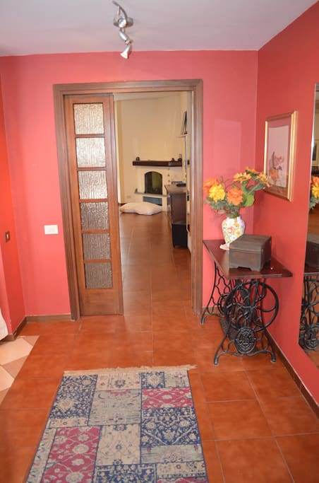 Entrata - Sassi City Apartment