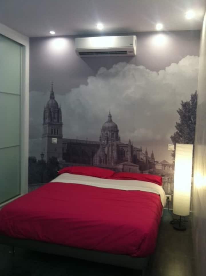 Loft diseño, como habitacion hotel