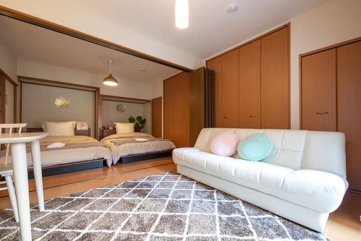 1F Retro/Cute house, Kamata, 9min Haneda airprt WF