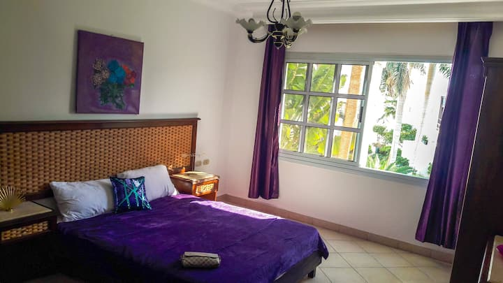 Trendy garden view studio in Delta Sharm