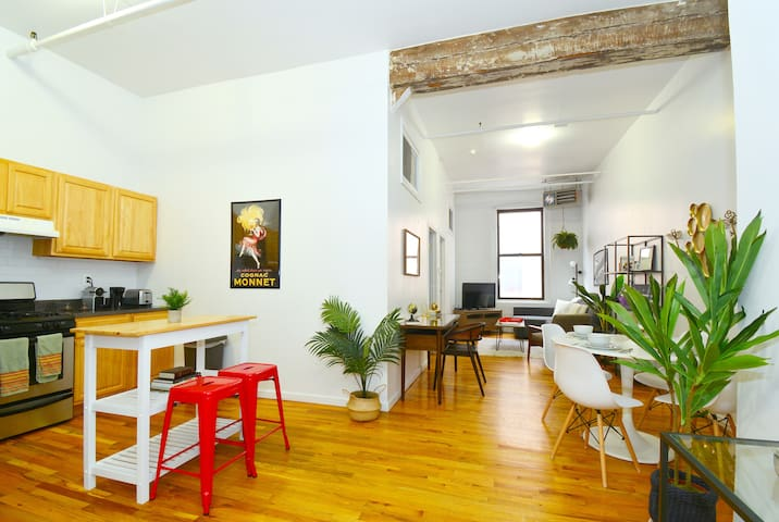 Industrial Williamsburg Loft - Enhanced Cleaning!