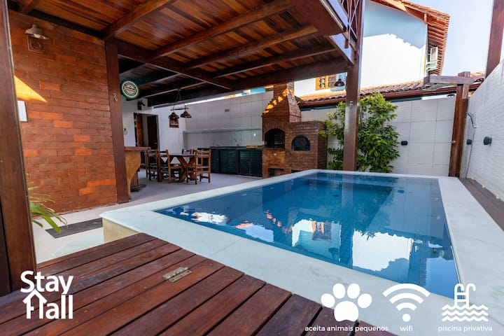 Casa en Carneiros c Luxury Private Pool - 4 Suites, Condominio ideal para familiares y amigos
