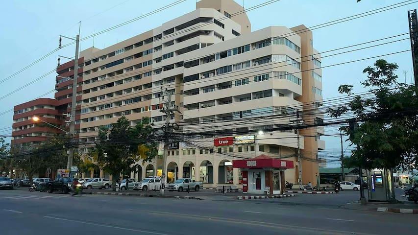 Service Apt.Pattaya Star 3bed rooms ถ.เทพประสิทธิ์