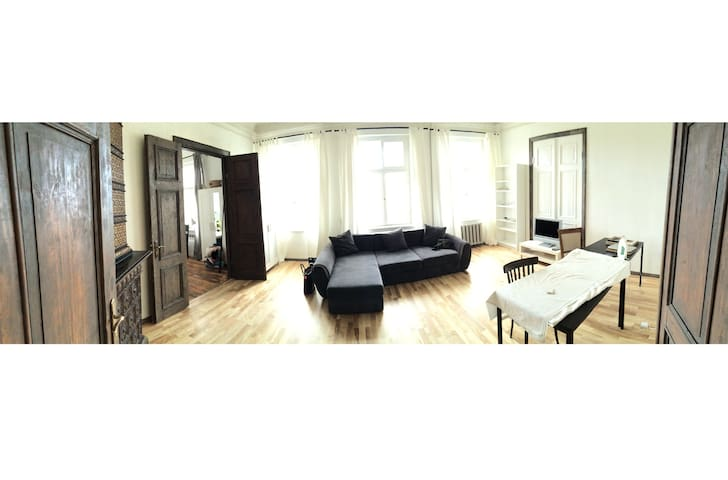 Double bedroom in central Riga - Riga - Appartement