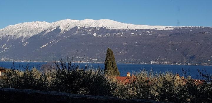 Trilocale Vista Lago di Garda