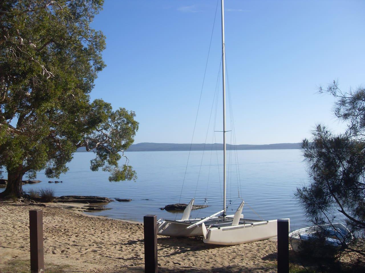 Gorgeous lake Cootharaba