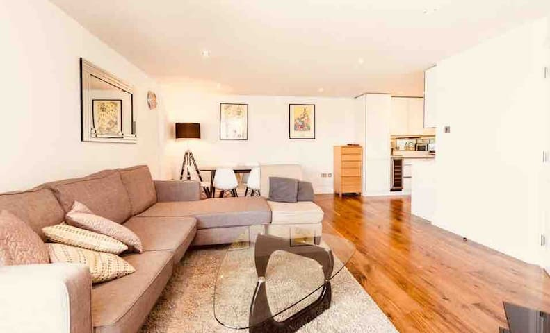 Luxury 2 dble bed flat London Hyde Park Victoria