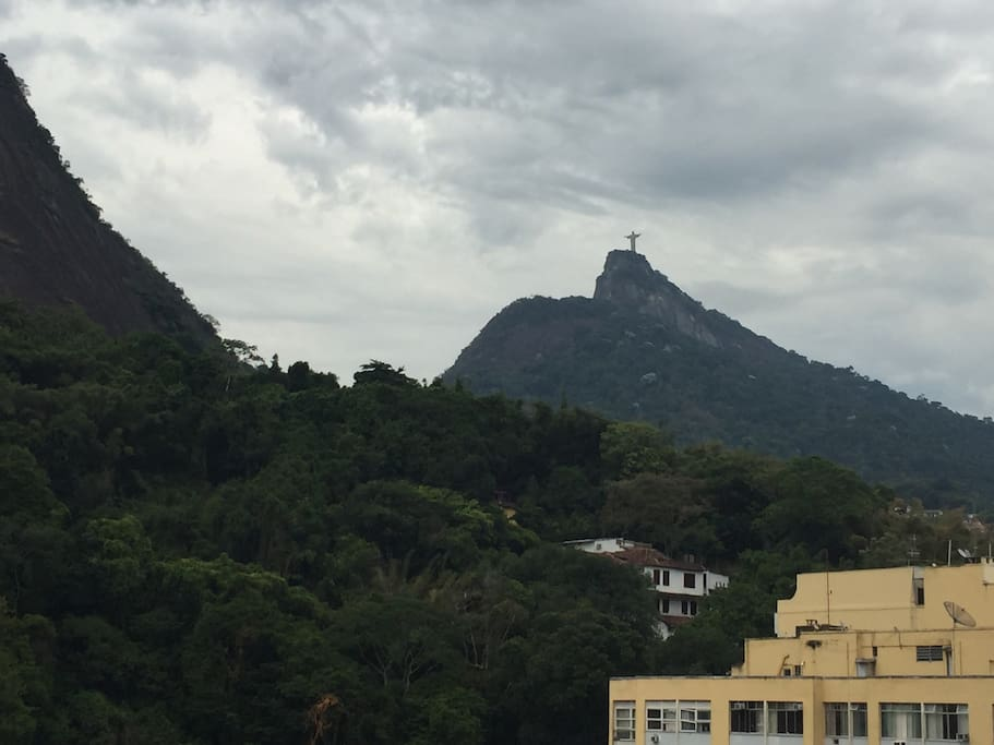 Great view of the Corcovado!