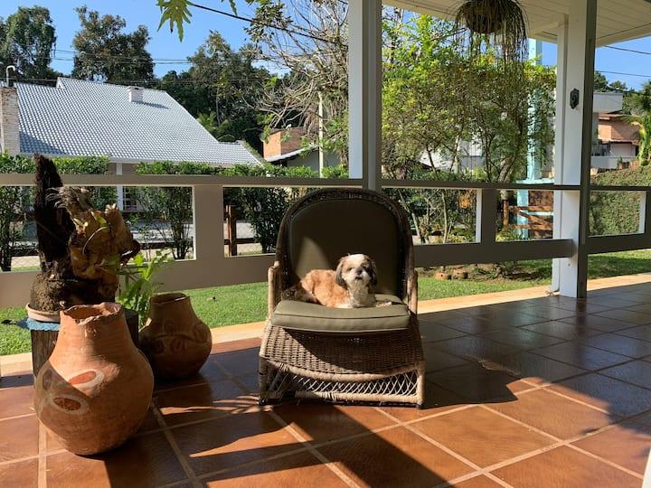 Mariliza na Riviera: aconchego +conforto +natureza