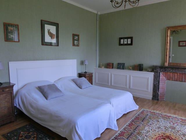 Chambre d'hôte Manoir à Princé-Neuf (19e) - Chéméré - Bed & Breakfast