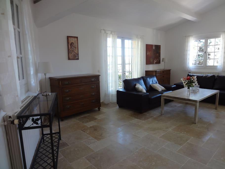 Living room - Villa Olive Petit