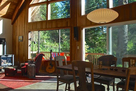 Mountain Cabin at the Coast     #1059 - House