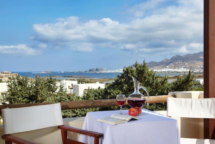 Three bed villa,sea views,Jacuzzi, breakfast incl. - Agios Prokopios - Villa