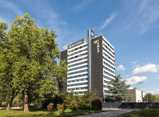 Modernes Apartment im IAT Hotel Tower Trier