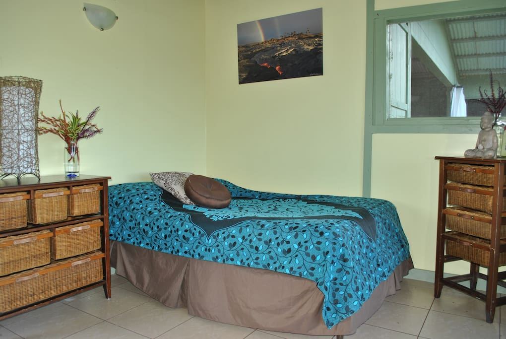 Comfortable Double Bed, Yoga Hale Room # 1