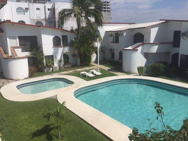 Habitación c/alberca cerca del Mar - Boca del Río - Apartmen