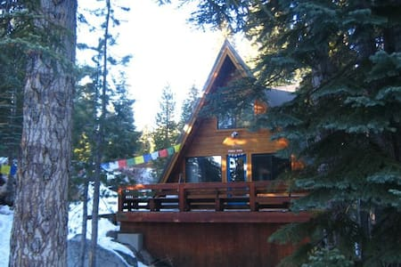 Ski in Ski Out Cabin at 7000 Feet! - Bear Valley - Haus