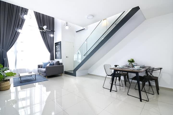 [CH] Ocean EkoCheras Residence Duplex for max 4pax