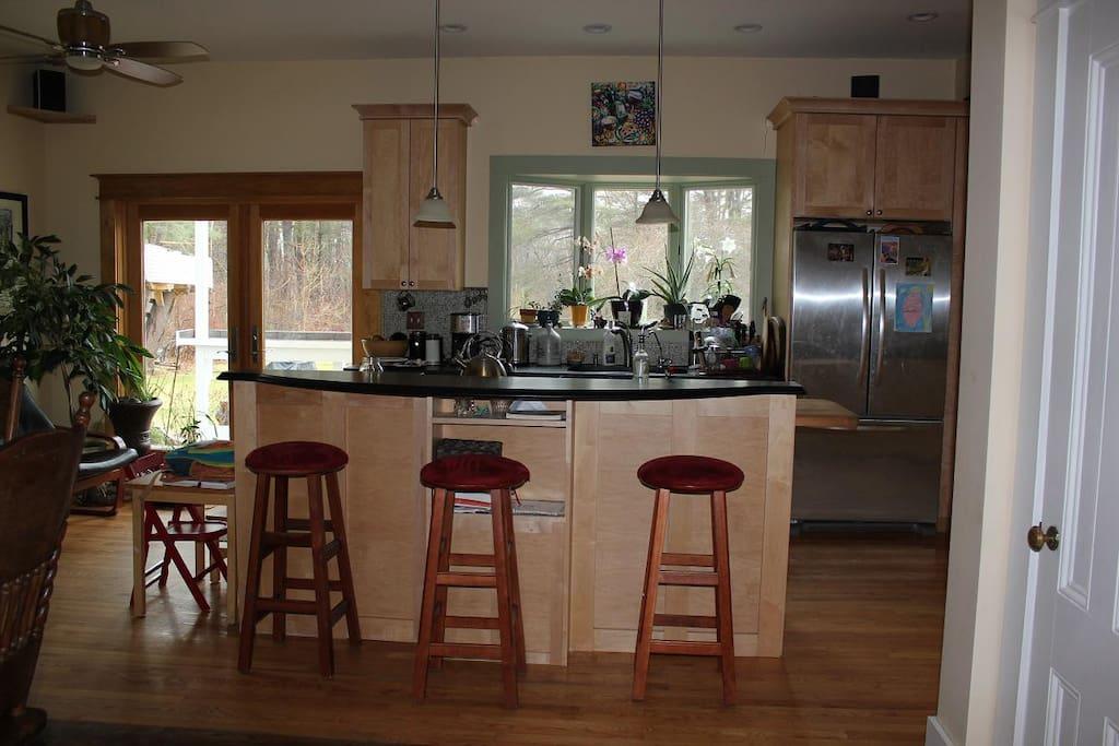 Kitchen area....