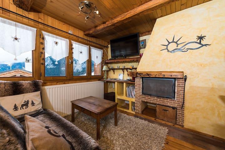appartement cosy ski aux pieds - Courchevel village  - Lomamökki