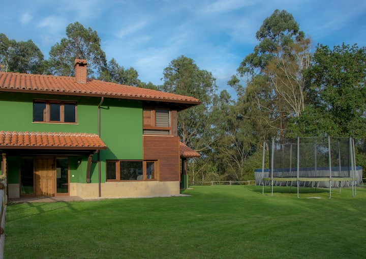 La casa del bosque I en Boquerizo