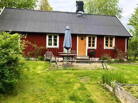 Casa de campo sueca idílica na costa oeste