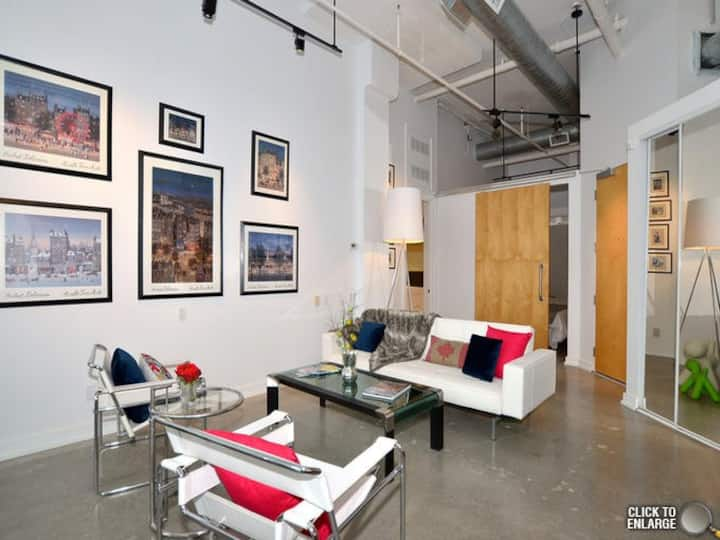 NEW YORK STYLE LOFT NEAR FOUR SEASONS YORKVILLE