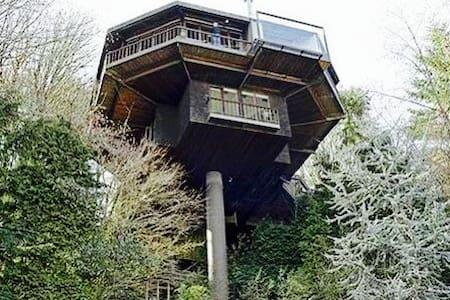 Saul Zaik Treehouse! - Portland - Haus