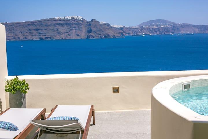 One Bedroom Villa with Hot Tub  - Aloia Villas