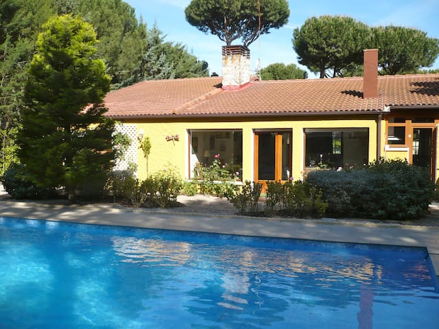 Nice House with 9x5  Private Pool  - Tordesillas - Villa