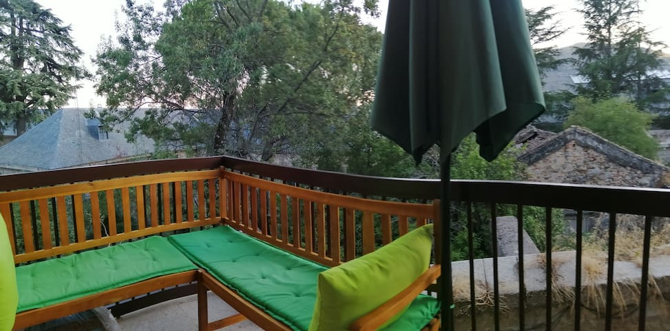 New room besides Monasterio, surrounded  by nature