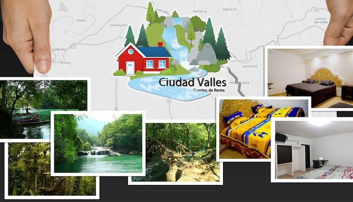 Habitaciones turísticas nuevas Cd Valles Huasteca