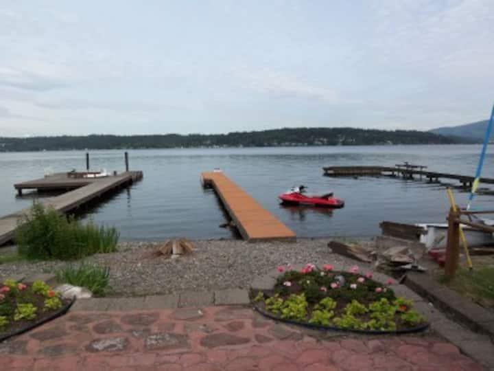 Lake Samm Waterfront, by Microsoft