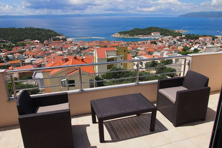 Luxury studio apartment - Makarska - Wohnung