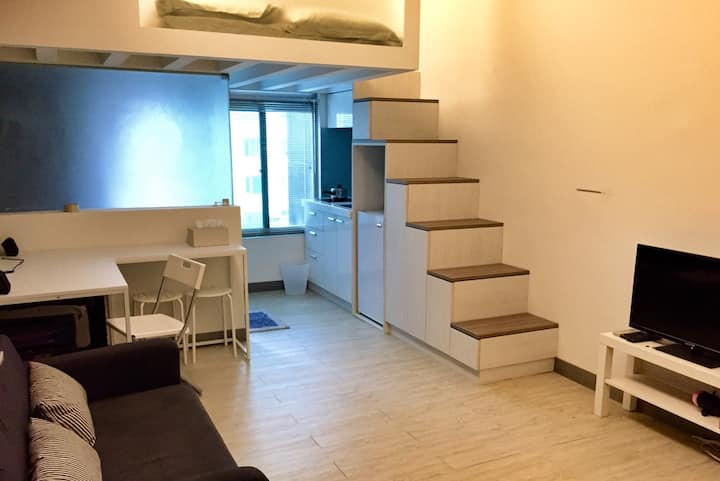 Private Loft in Taipei Dazhi area