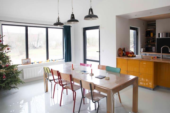 Belle maison en bois baie de Somme - Saint-Quentin-en-Tourmont - House
